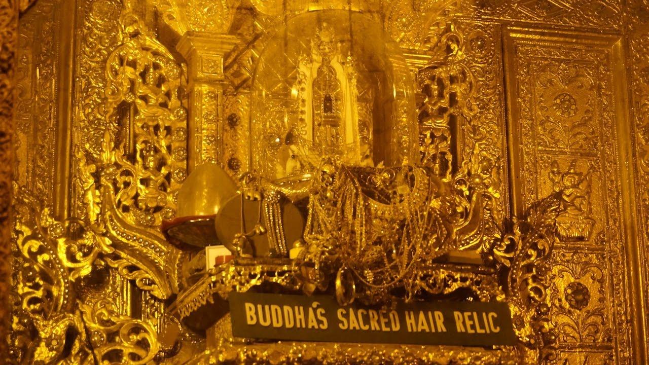 buddha's sacred hair relic